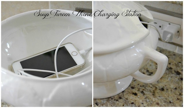 Soup Tureen Phone Charging Station-Housepitality Designs