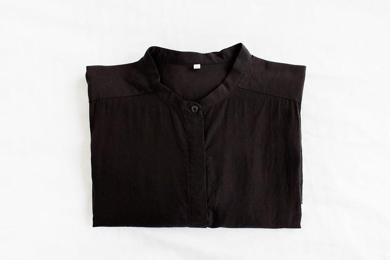 The Second A/W Purchase: MUJI Shirt Dress
