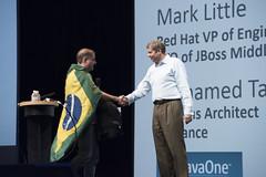 Bruno Souza, JavaOne Strategy Keynote, JavaOne 2014 San Francisco
