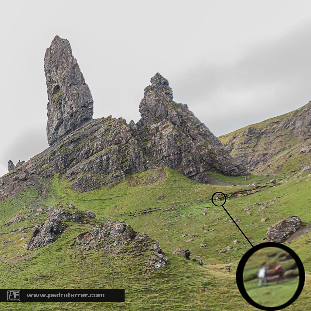 Old man of Storr. Big, really BIG