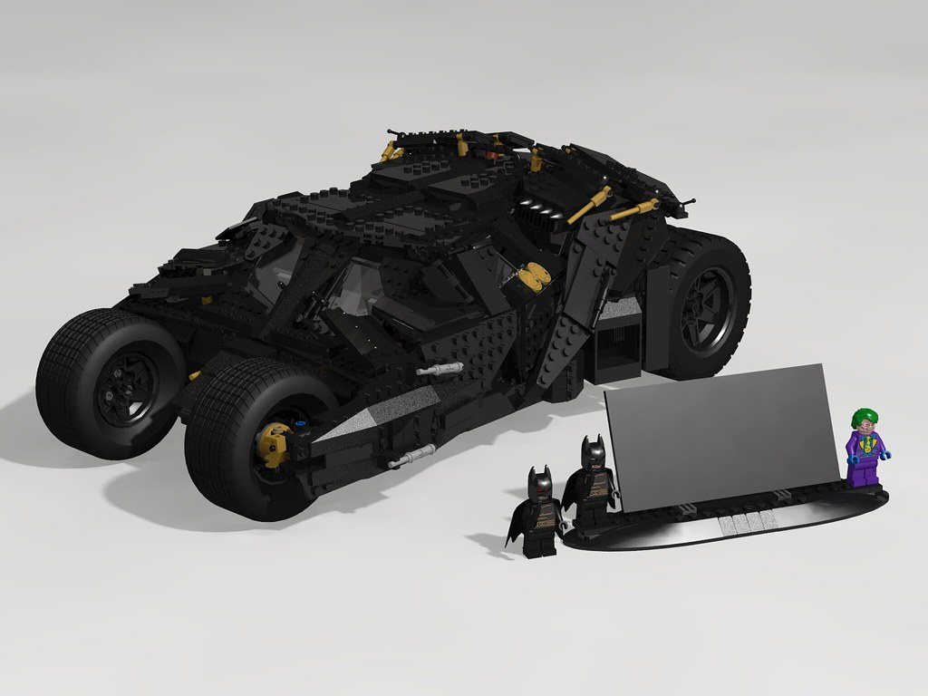 lego ldd 76023 The Tumbler