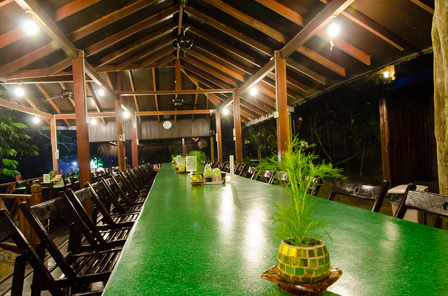 Tanah Aina Farrah Soraya's dining area