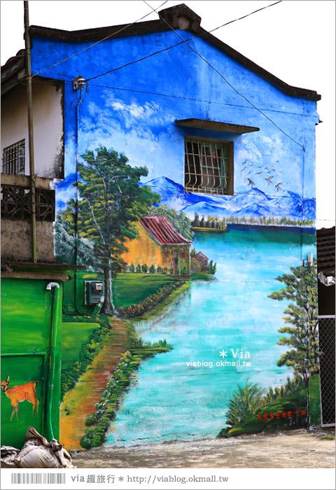 【關廟彩繪村】新光里彩繪村~在北寮老街裡散步‧遇見全台最藝術風味的彩繪村61
