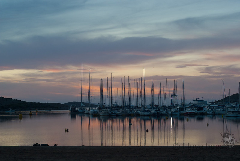 atardecer mar menor