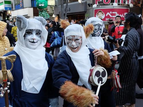 Kagurazaka Bakeneko Parade 2014-08