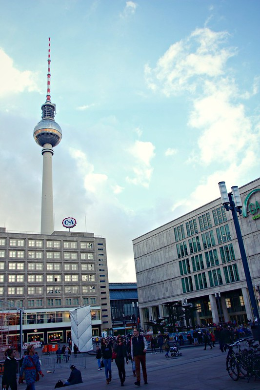 Alexanderplatz & TV Tower, Berlin