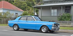 automobile, automotive exterior, executive car, vehicle, ford xy falcon gt, compact car, antique car, sedan, classic car, land vehicle, luxury vehicle,