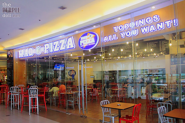 Mad for Pizza Tomas Morato