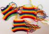 Rainbow stockings in progress