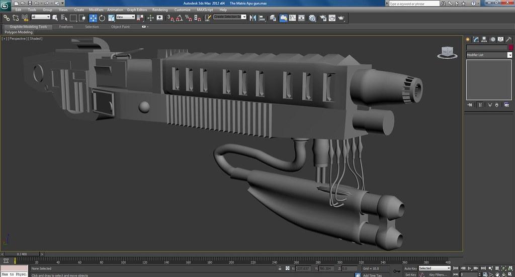 The Matrix Apu Gun Work In Progress Screenshots