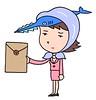 "Business woman cartoon character ""Saw secretary"""