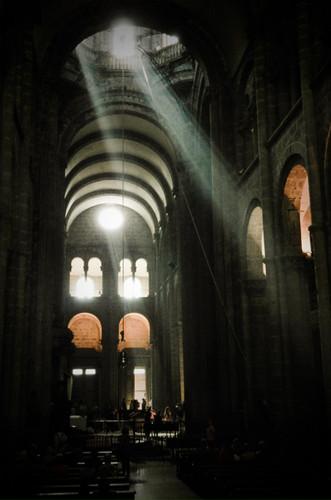 Cathedral In Santiago de Compostela in Spain