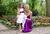 New Look 6205 Flower Girl dress - with bride