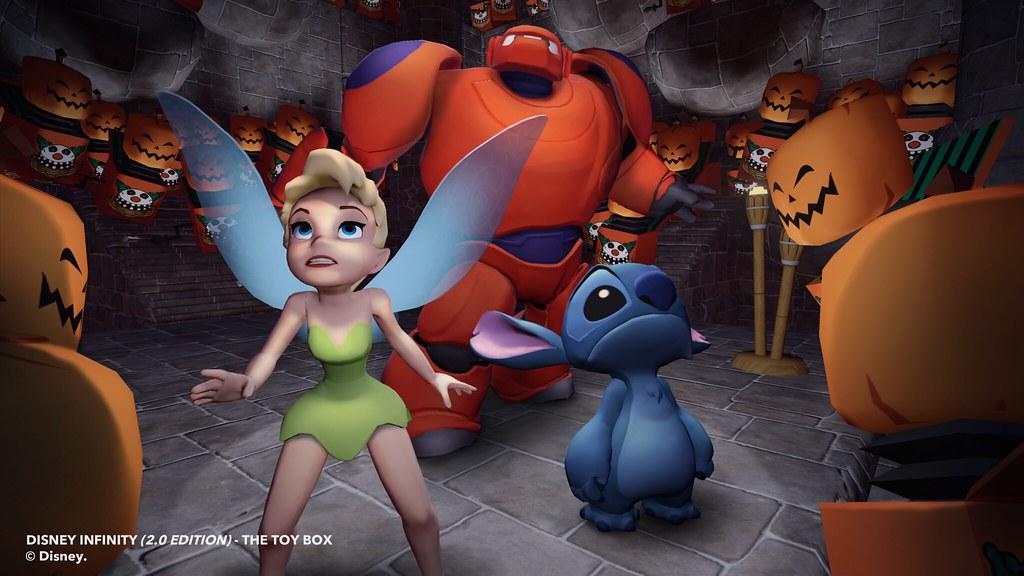 En Disney Infinity 2.0: Marvel Super Heroes también se celebra Halloween 4