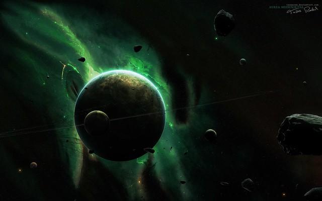 Universe_and_planets_digital_art_wallpaper_moons