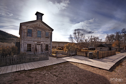 statepark wood old abandoned rural montana decay boardwalk ghosttown preserved schoolhouse deserted bannack