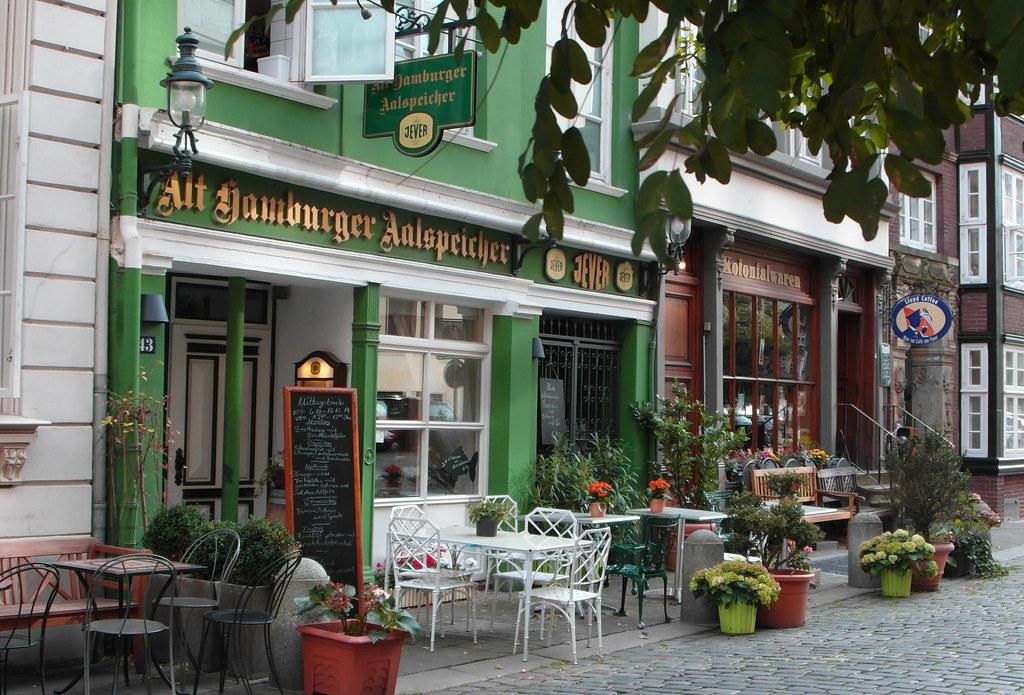 Hamburgs Seitenstraßen ...