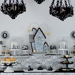 My 'Gothic Glamour' dessert table