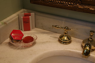 Soap?  What's that?  Sugar n Spice Suite at the Madonna Inn. California.