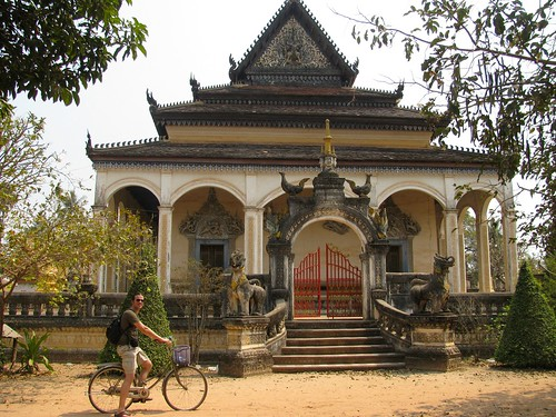 Templo budista en Siem Reap
