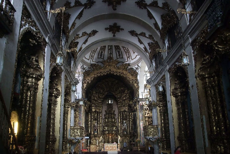 Das Carmelitas interieur - Porto