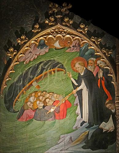 Saint Dominique sauvant des naufragés (Musée national du Moyen Âge)