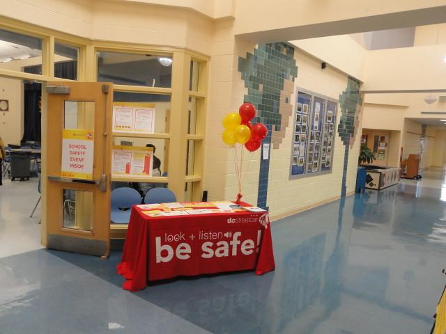 Miner Elementary School Streetcar Safety Assemblies