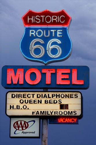 Historic 66 Motel - Route 66, Seligman, Arizona