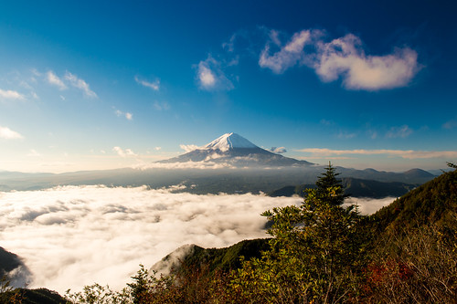 autumn japan october fuji candidate crazyshin yamanashi 2014 富士 初冠雪 初雪 新道峠 afsnikkor2470mmf28ged nikond4s 20141016ds19362