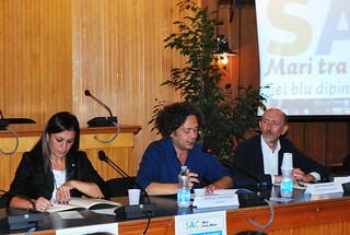 Agata Diciolla, Michele Santeramo e Lino Manosperta