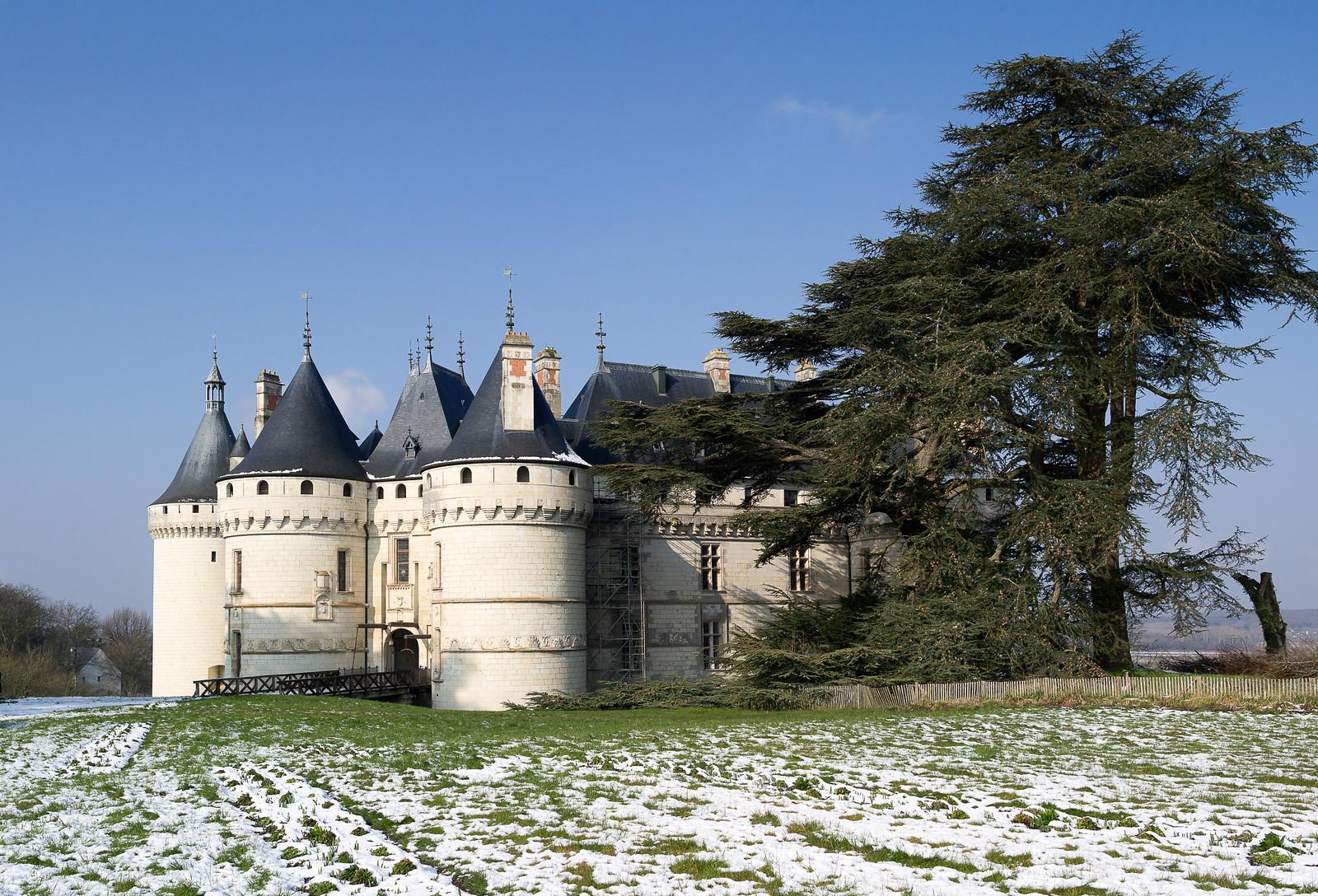 Замок Шомон-сюр-Луар (Château de Chaumont).
