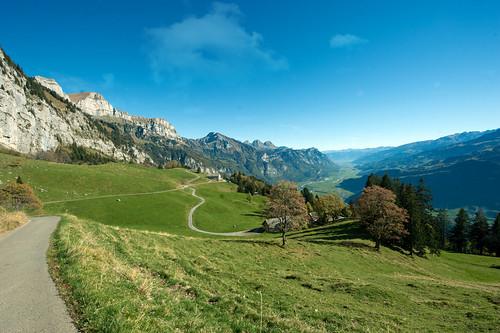 oktober landscape schweiz switzerland nikon ngc berge landschaft 2014 churfirsten mauntains walenstadtberg kantonstgallen d700 hochrugg