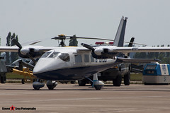 G-BHJS - 172 - Private - Partenavia P-68B Victor - Fairford RIAT 2006 - Steven Gray - CRW_1620