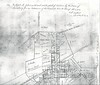 1857 North Lewisburg Map showing Friends Burial ground