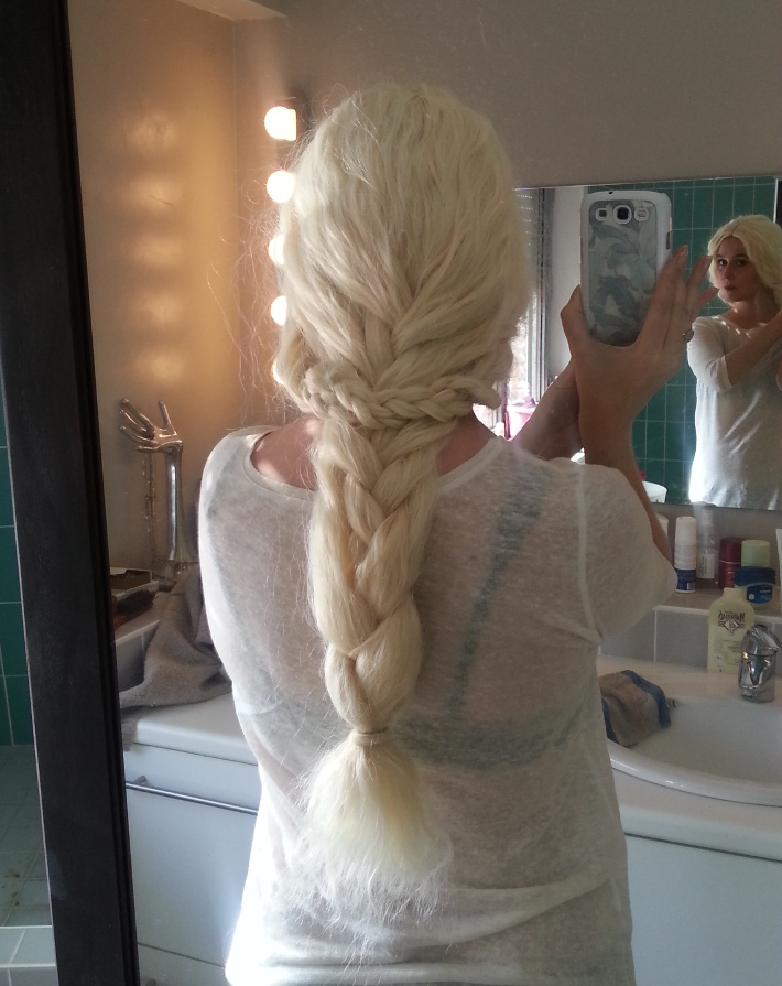 braided daenerys targaryen wig