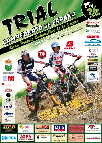 Cartel trial cabanillas
