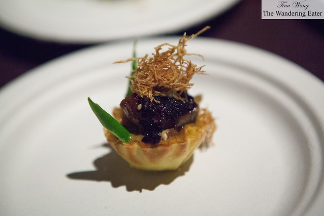 Kowloon filet mignon tart by Red Farm
