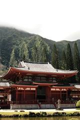 Fog @ Byodo-In Temple