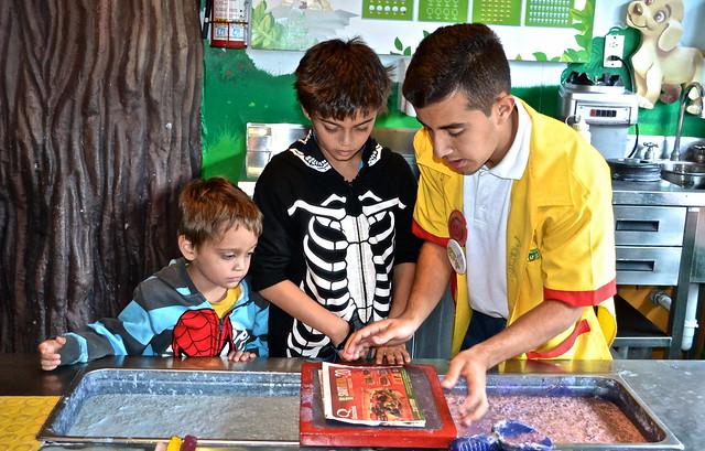 how to make paper, el museo de los niños, Guatemala City