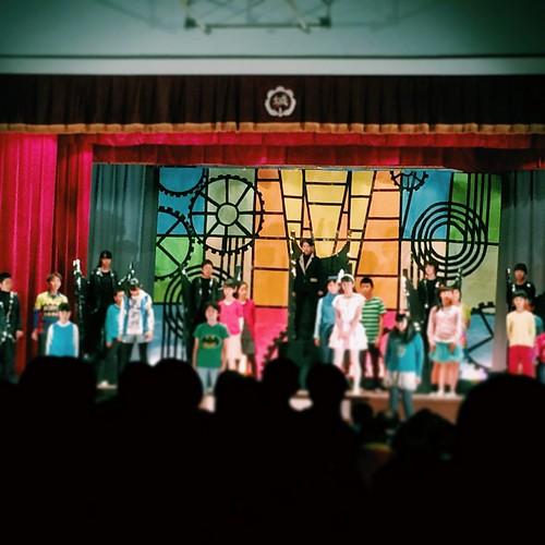 小学校学芸会 演劇経験者が結構いらっしゃる感じで本格的なり