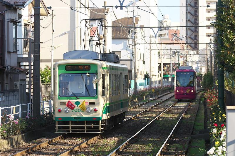 Tokyo Train Story 都電荒川線 2014年11月15日