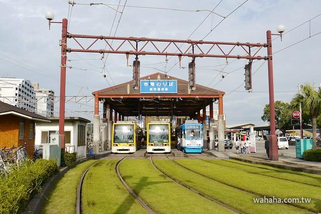 鹿児島市電鹿児島駅