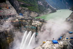 JingPing first Stage Hydropower dam