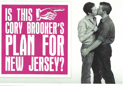 Anti-gay ad against Cory Booker
