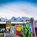 street art coucher soleil by chamassz