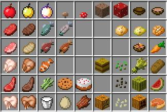 Master Item List and Sorting Idea [1.8] - Survival Mode ...