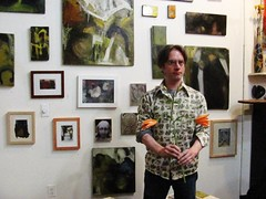 Ed's Art Show / Lonesome Red at Out of the Blue Gallery