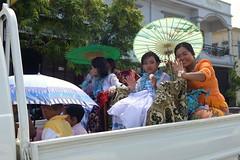 T52/54 Shinpyu Procession - Mandalay - 09