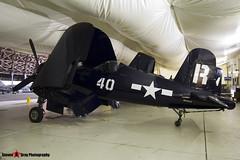 NX1337A R-40 - 133722  - Vought F4U-7 Corsair - Tillamook Air Museum - Tillamook, Oregon - 131025 - Steven Gray - IMG_8051