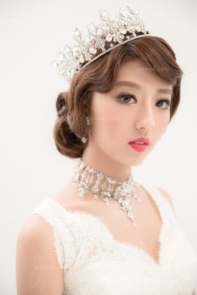 新娘髮型,新娘造型_插圖